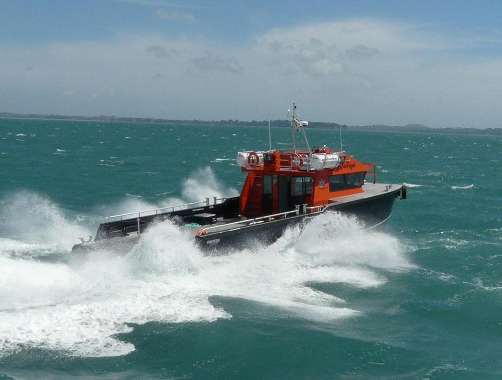 16m Alloy work boat power cat