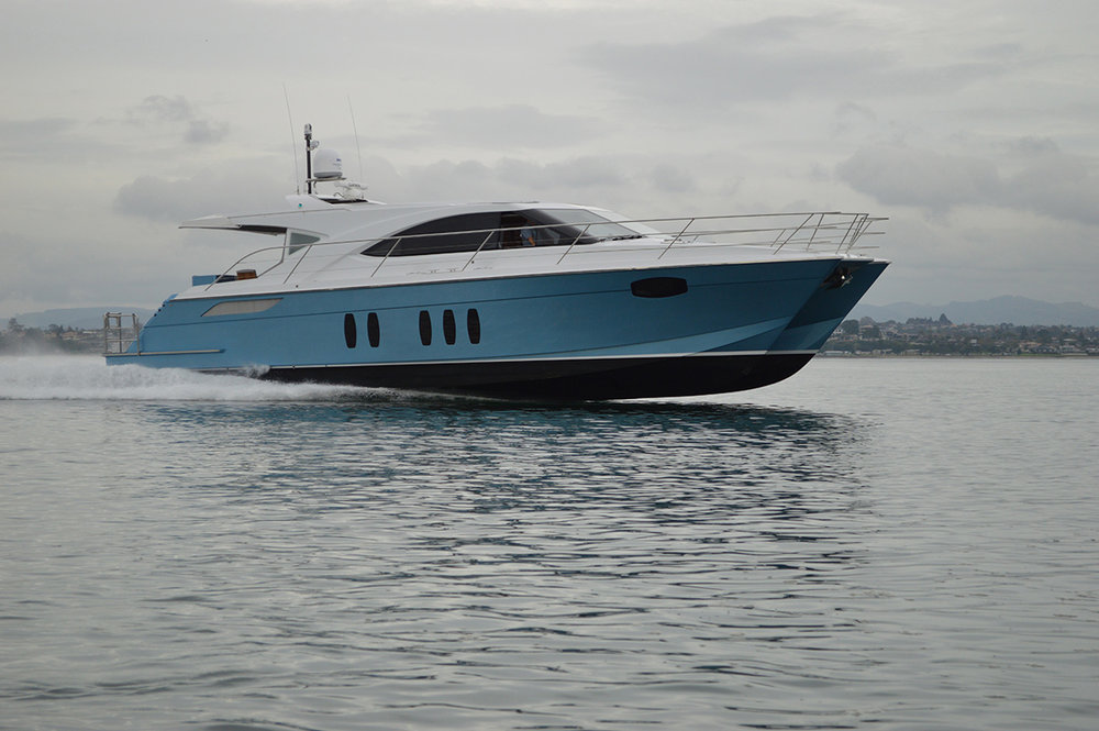 18m composite high speed foiling power cat