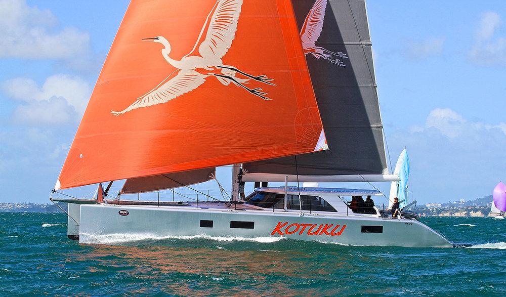20m Carbon fibre high performance sailing cat