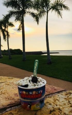 Sunset and Ice Cream ....