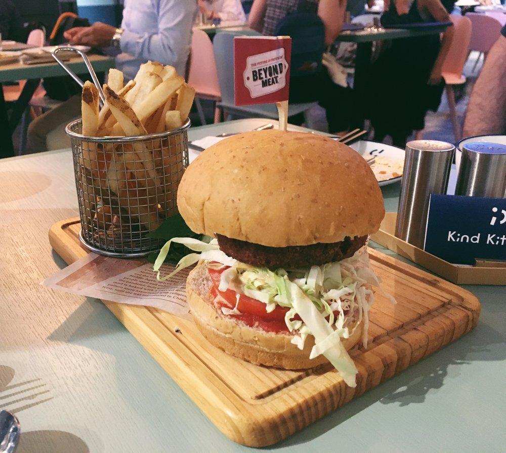 Beyond Burger from Kind Kitchen Green Common, Hong Kong