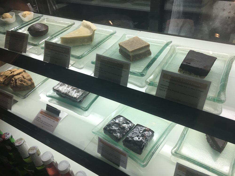 More of Their Desserts on Display! -