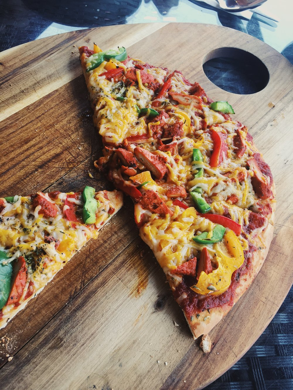 Chick'n Tikka Pizza
