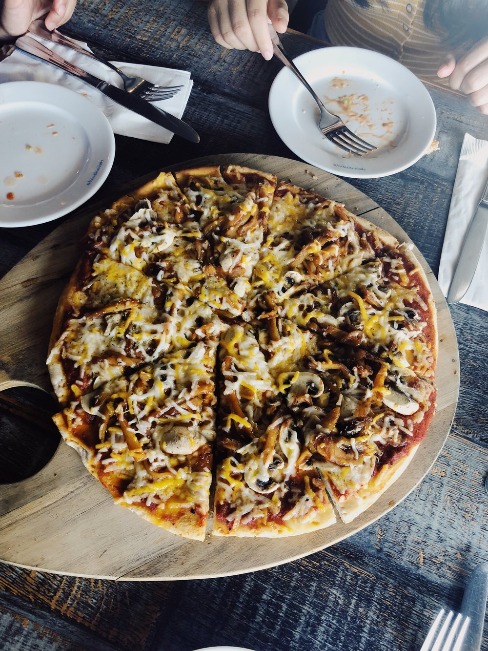 Pulled Jackfruit Pizza