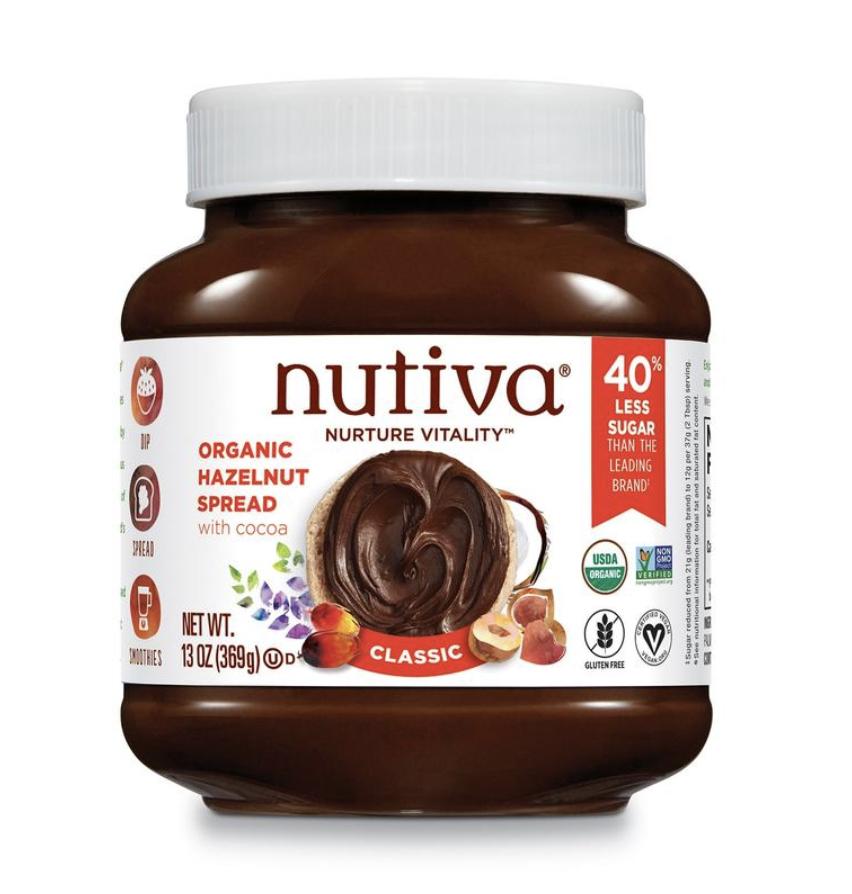 Nutiva Organic Hazelnut Spread https://store.nutiva.com/products/organic-hazelnut-spread
