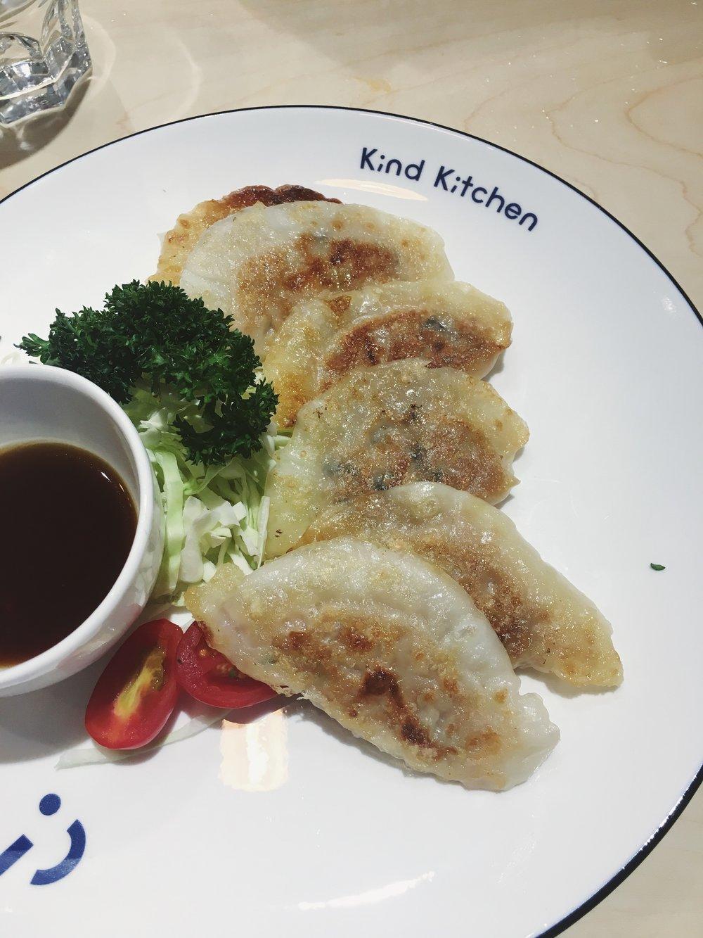 Omnipork Gyozas from Kind Kitchen ($59)