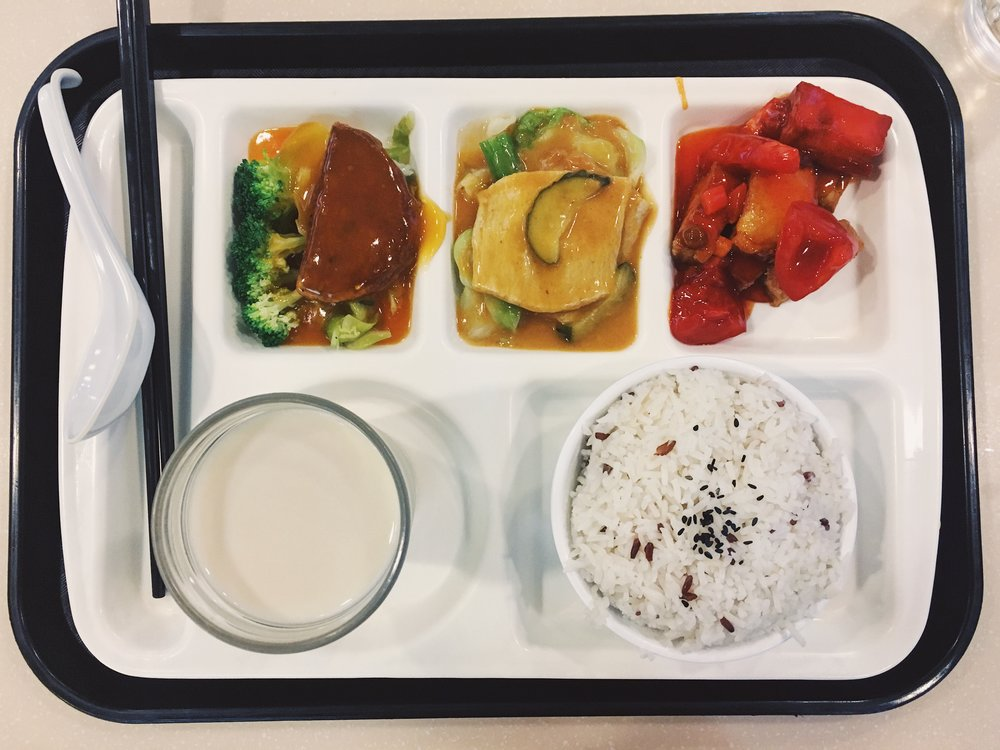 Set Lunch from Loving Hut