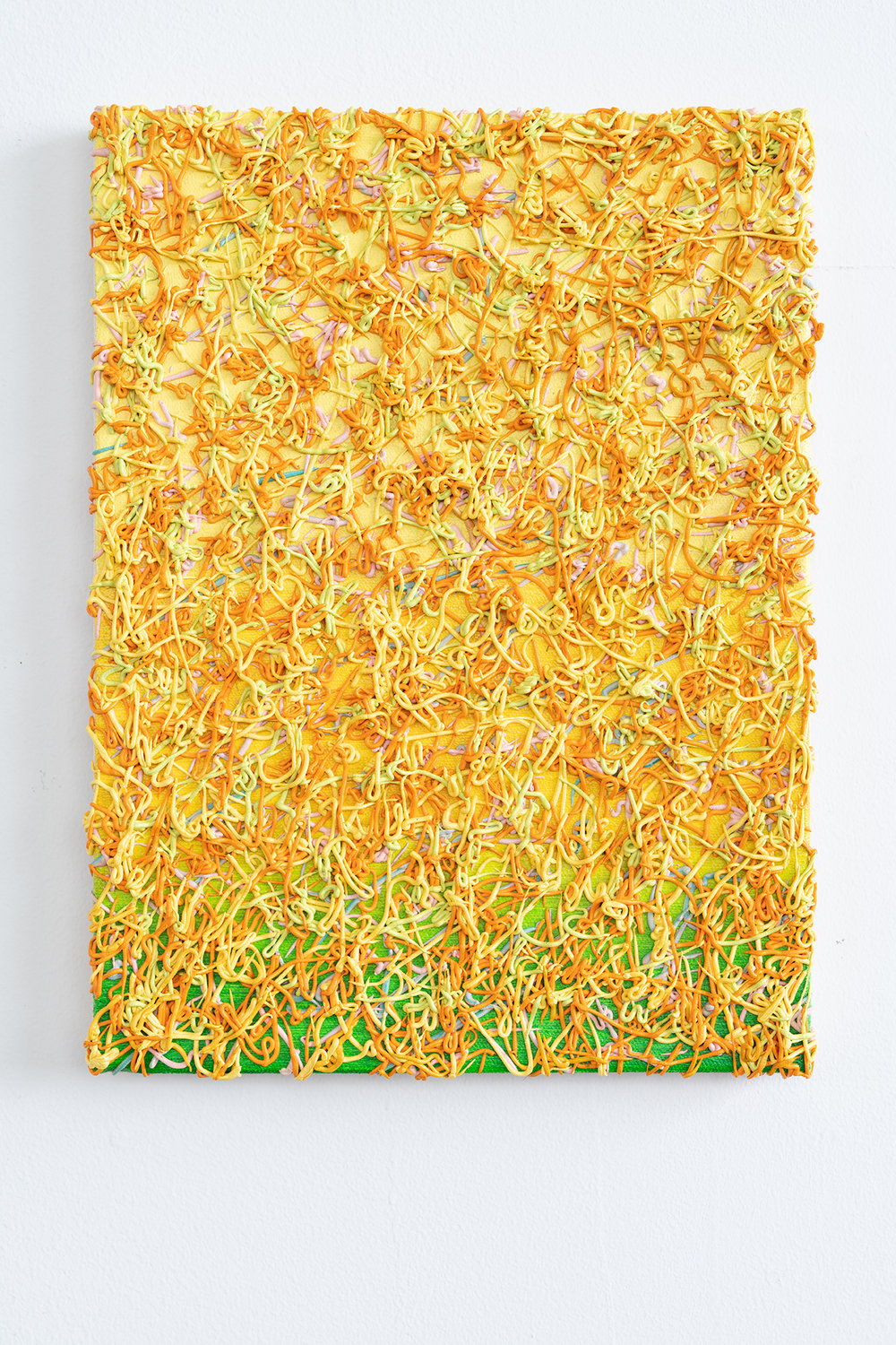 Philip Hardy   Noodle Painting (Yellow)  2018  Photo Rob Ventura