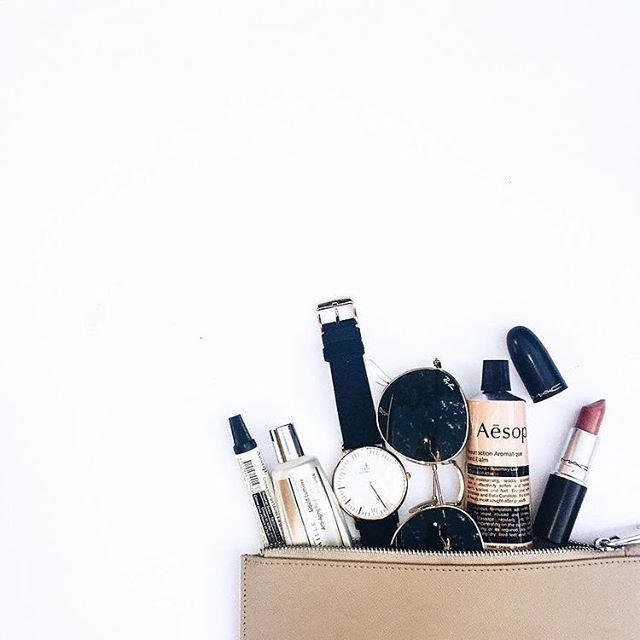 What getting ready items can you not live without?  I don't feel put together without tinted moisturizer, mascara and my signature winged eyeliner.  #questionoftheday #makeup #lipstick💄 #skincare #hairproducts