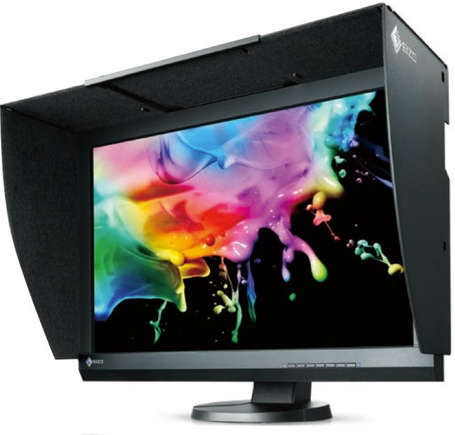 "Eizo CG247 ColorEdge 24"" Monitor   - 10 bit Display from 16 bit LUT - 99% Adobe RGB Colorspace - 1920 x 1200 native resolution - Colour Calibration Service to your Specifications available"