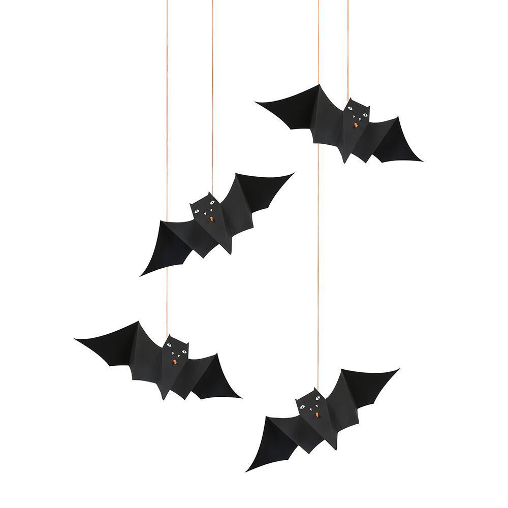 bat hanging decorations — make it pop