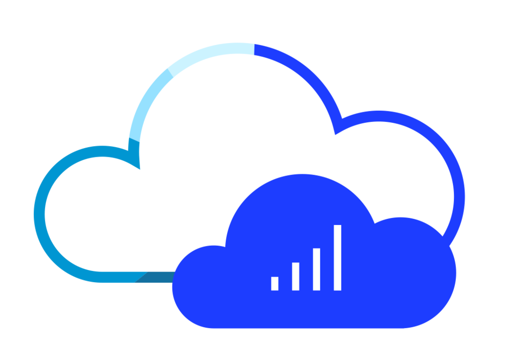 Sentel cloud based technology icon