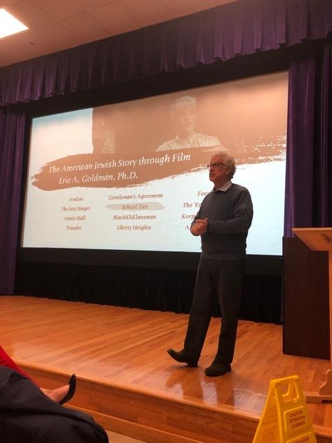 Dr. Eric Goldman speaking at Furman University