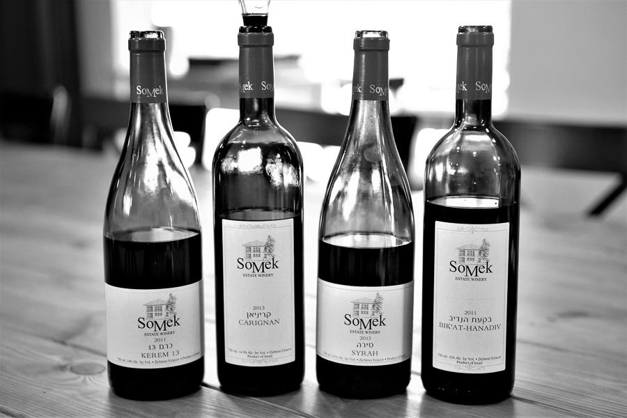 Somek Winery, Zichron Ja'akow, Israel.