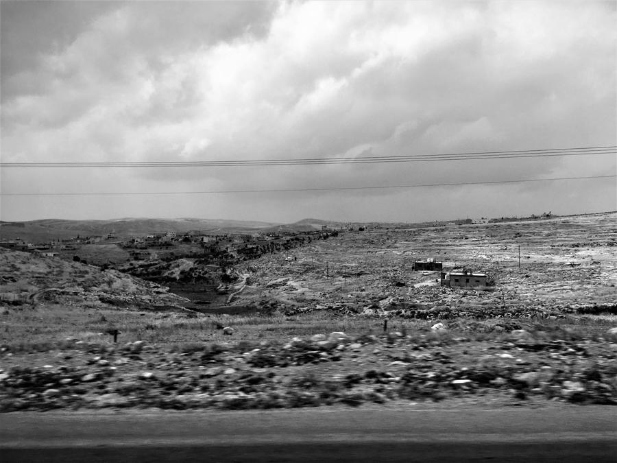 Unterwegs vom Yatirwald zur Sphera Winery - quer durch das südliche Westjordanland.
