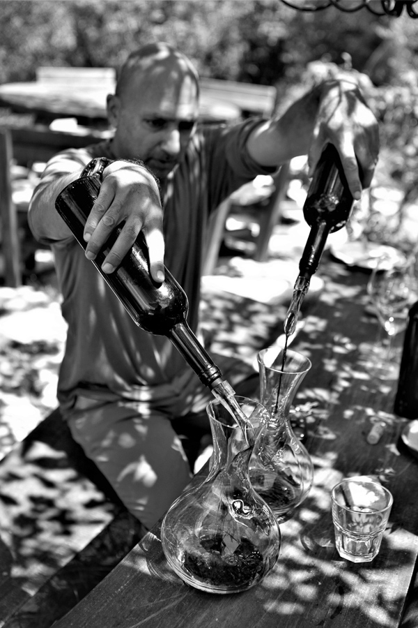 Winzer Sarmad Salibi, Iris Domain, Btalloun, Libanon