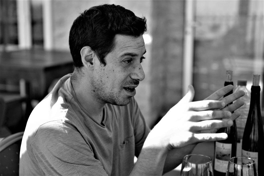 Jean-Paul Khourry erläutert die Philosophie seiner Domaine