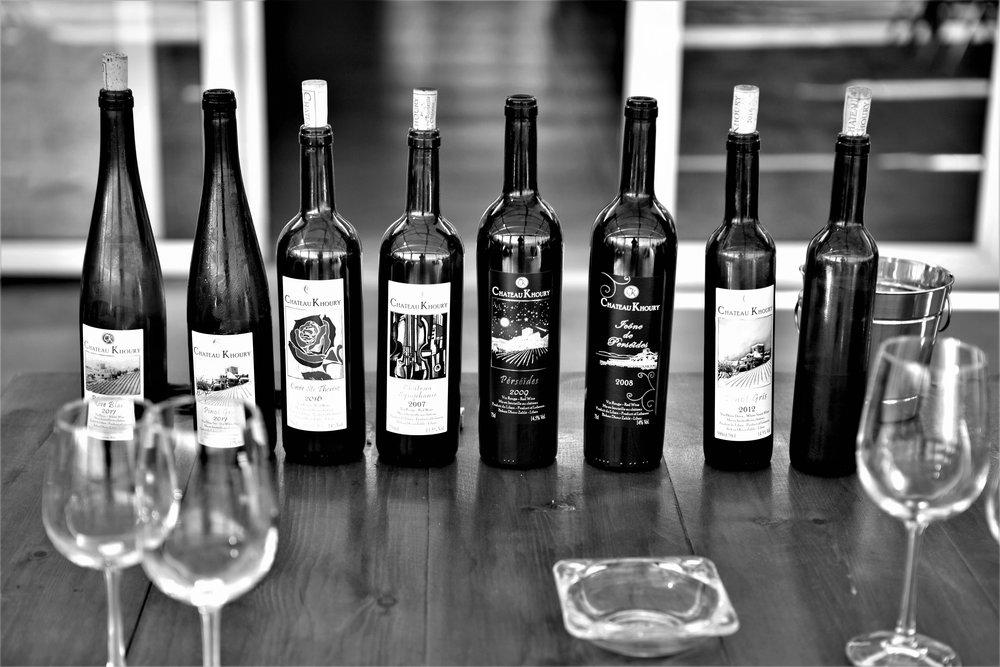 Die Weine des Château Khoury