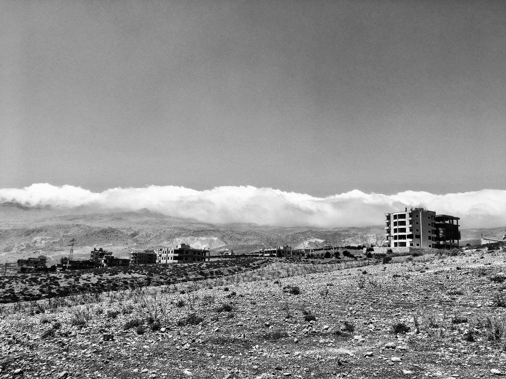 Bauruinen sind im Libanon keine Seltenheit