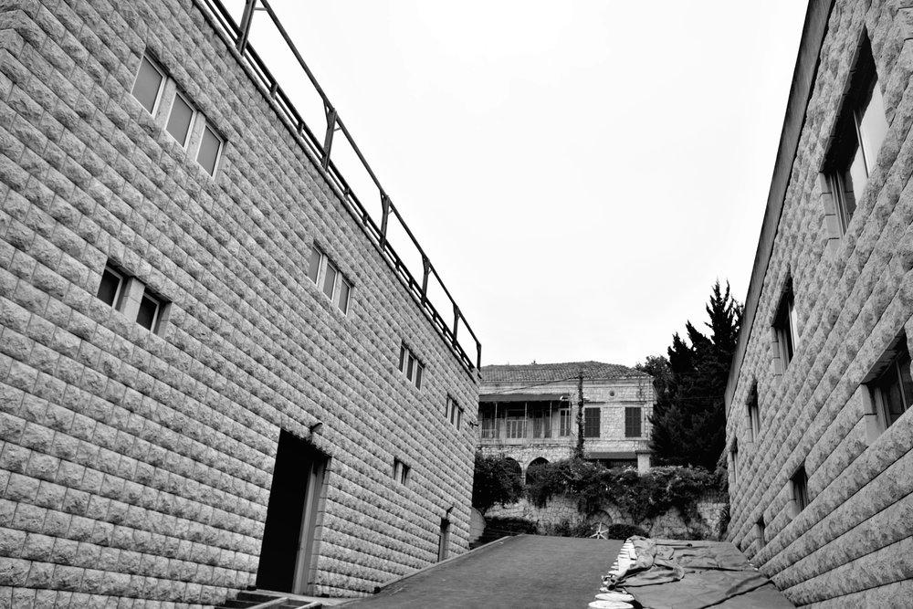 Kellergebäude Chateau Musar.