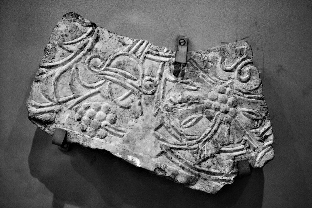 Altes Fragment (Museum Balbeek).