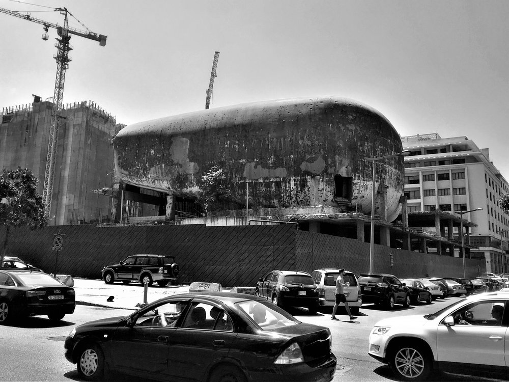 Dome City Center Theatre in Beirut.