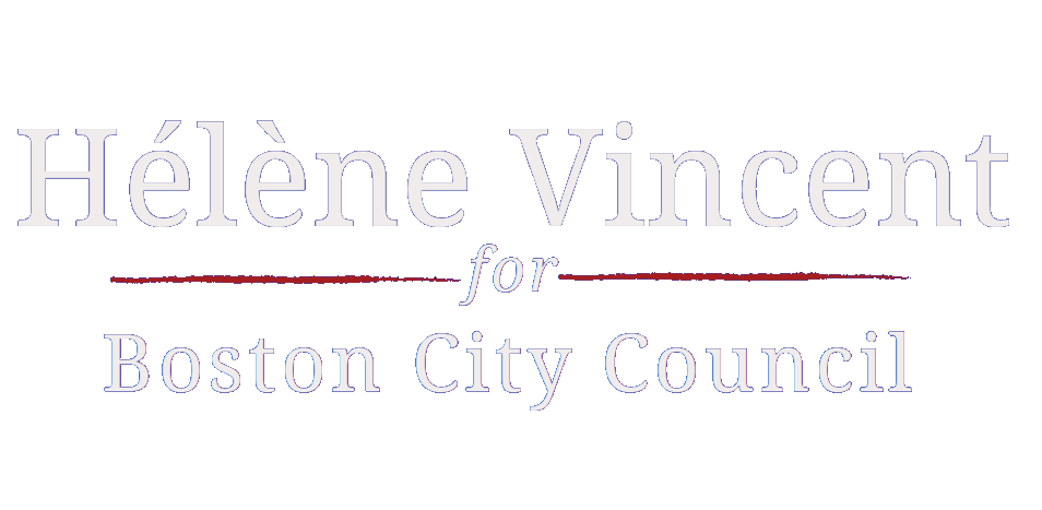Hélène Vincent for Boston City Council