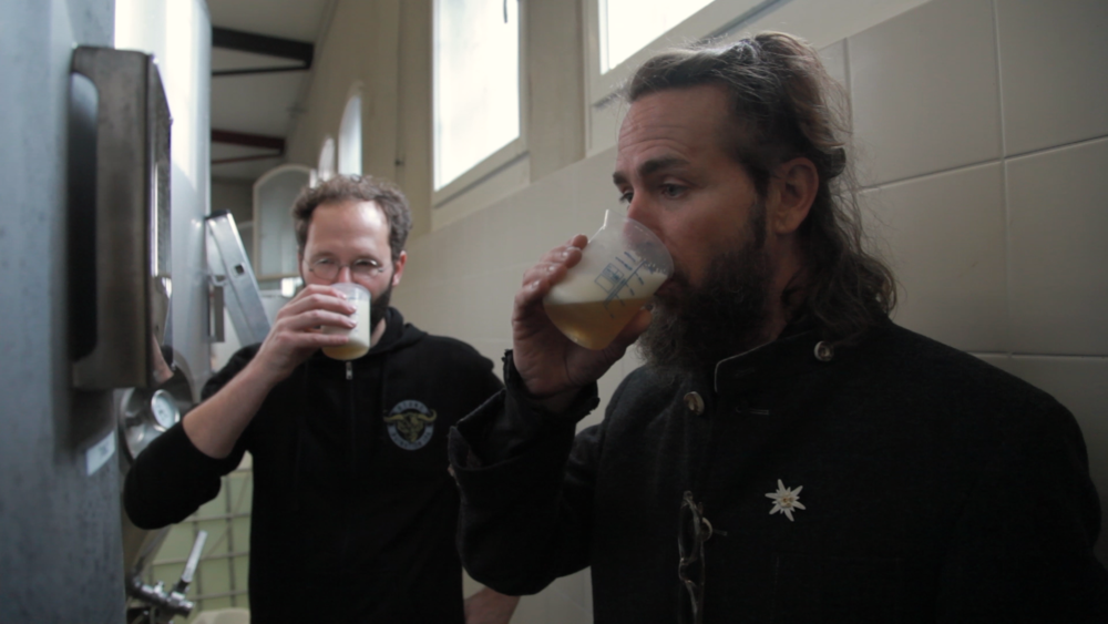 greg and tom drink first beers.png