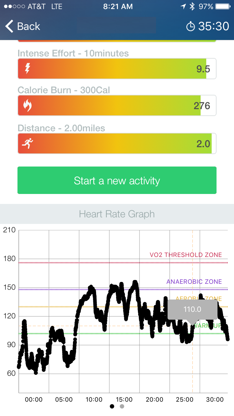 Heart rate graph - Real time HEART RATE GRAPHING
