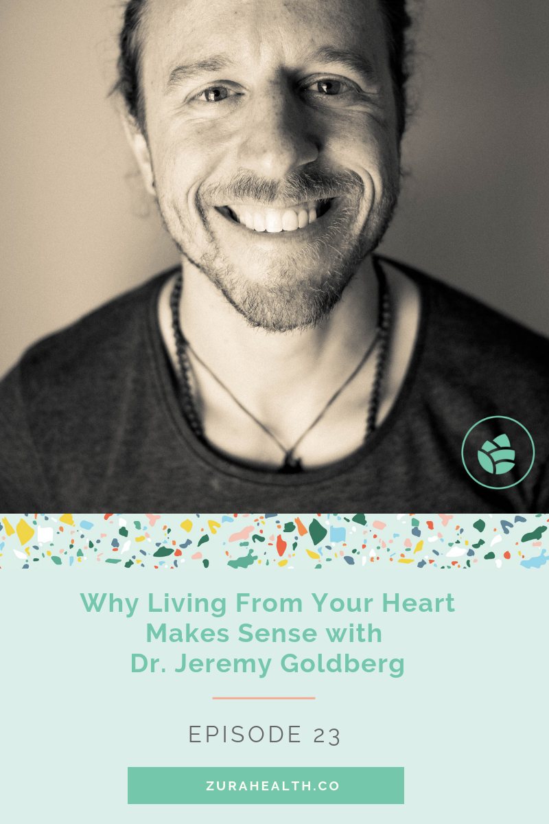 - What if you lived your life from your heart? What blocks you from stepping boldly into your dreams? We discuss all of the answers right here.In this episode, Dr. Jeremy Goldberg - a spoken word poet, author, coach, and all around solid human jams on mindset -- why choosing your path & trusting the pull of your heart strings is actually the most rational thing we can do + the mindset shifts we need to make in order to embody a heart-centered life.