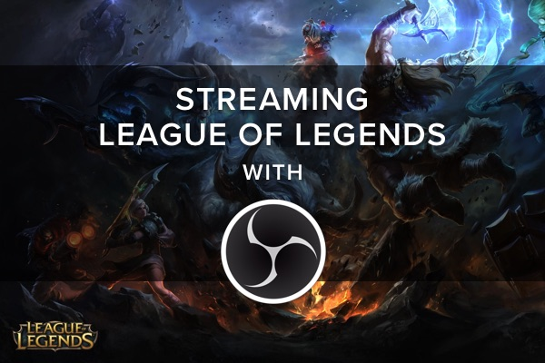 Streaming League of Legends with separate lobby and in-game scenes