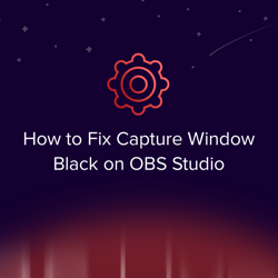 How to Fix the OBS Capture Window Black Issue — OBS Live | Open