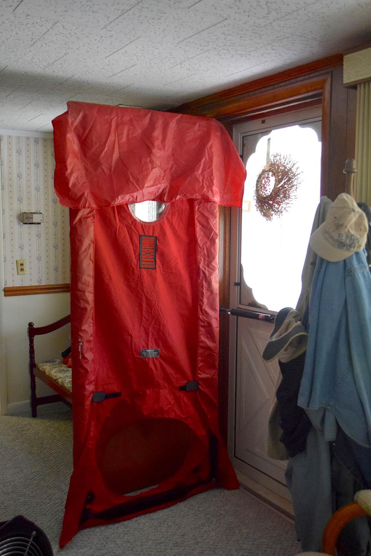 Prepped Blower Door