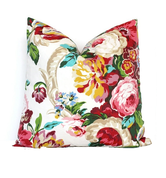 Floral - A floral or paisley pattern.