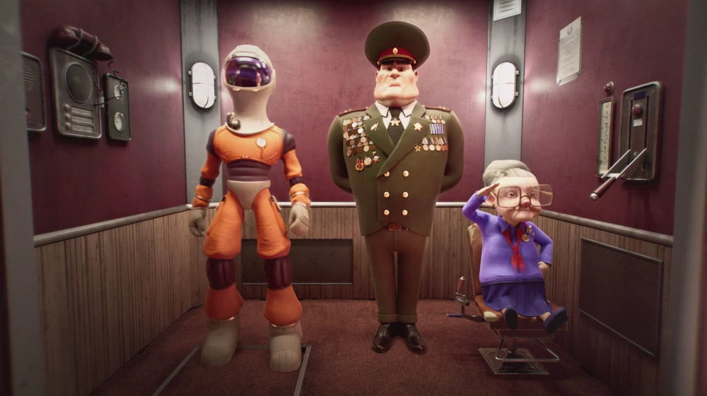 France, 2017, English, 5 min. 21  Directors: Benjamin Bernon, Clémentine Courbin, Mathieu Guevel, Anthony Rege, Jérôme Vanbeneden  During the USSR space race, Macha and Vassily, the old timers, work secretly on a special project…