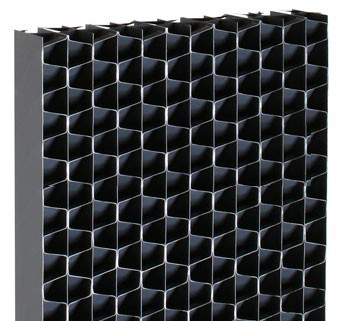 PVC AIR INLET LOUVERS