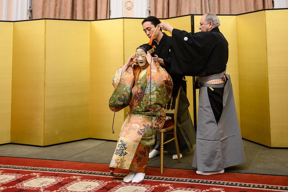 Kinue and Teruhisa Oshima, and Richard Emmert