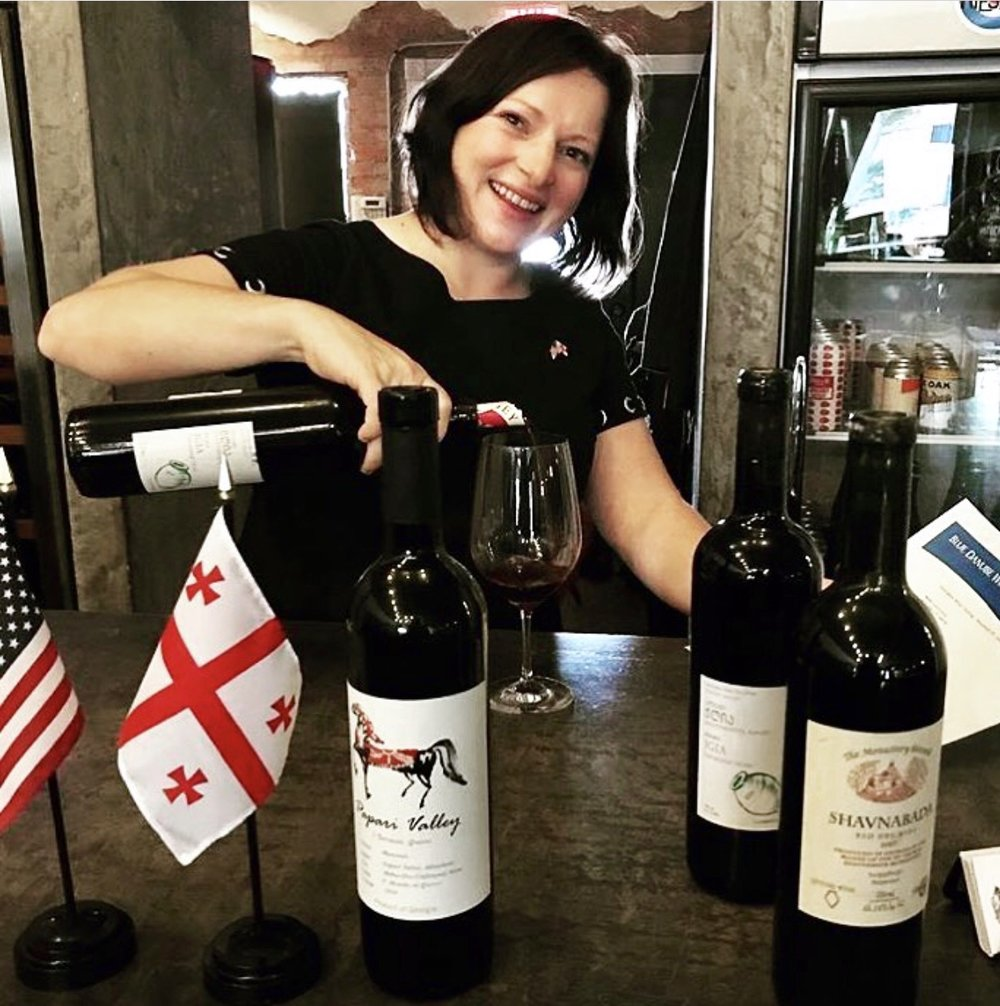JULIA DIXON, 1.18.19 - Julia Dixon has carved out a niche in the wine industry. She is the owner of ArtProWine, a luxury entertainment company focused on organizing upscale wine events, and with her newly founded company, Gravity Imports, Julia will be introducing the US to some phenomenal Georgian wines.