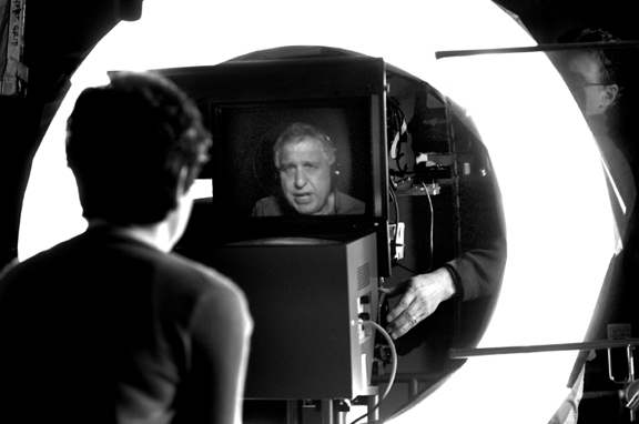 The Interrotron, invented by renowned documentarian Errol Morris.