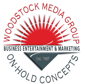 Woodstock Media Group On Hold Concepts Logo