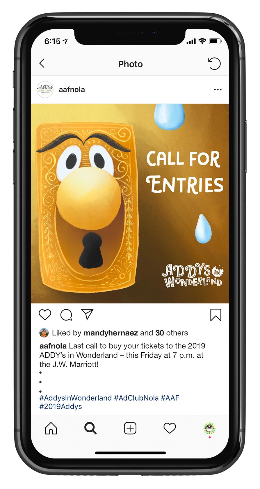 NO Addy Awards Social Post