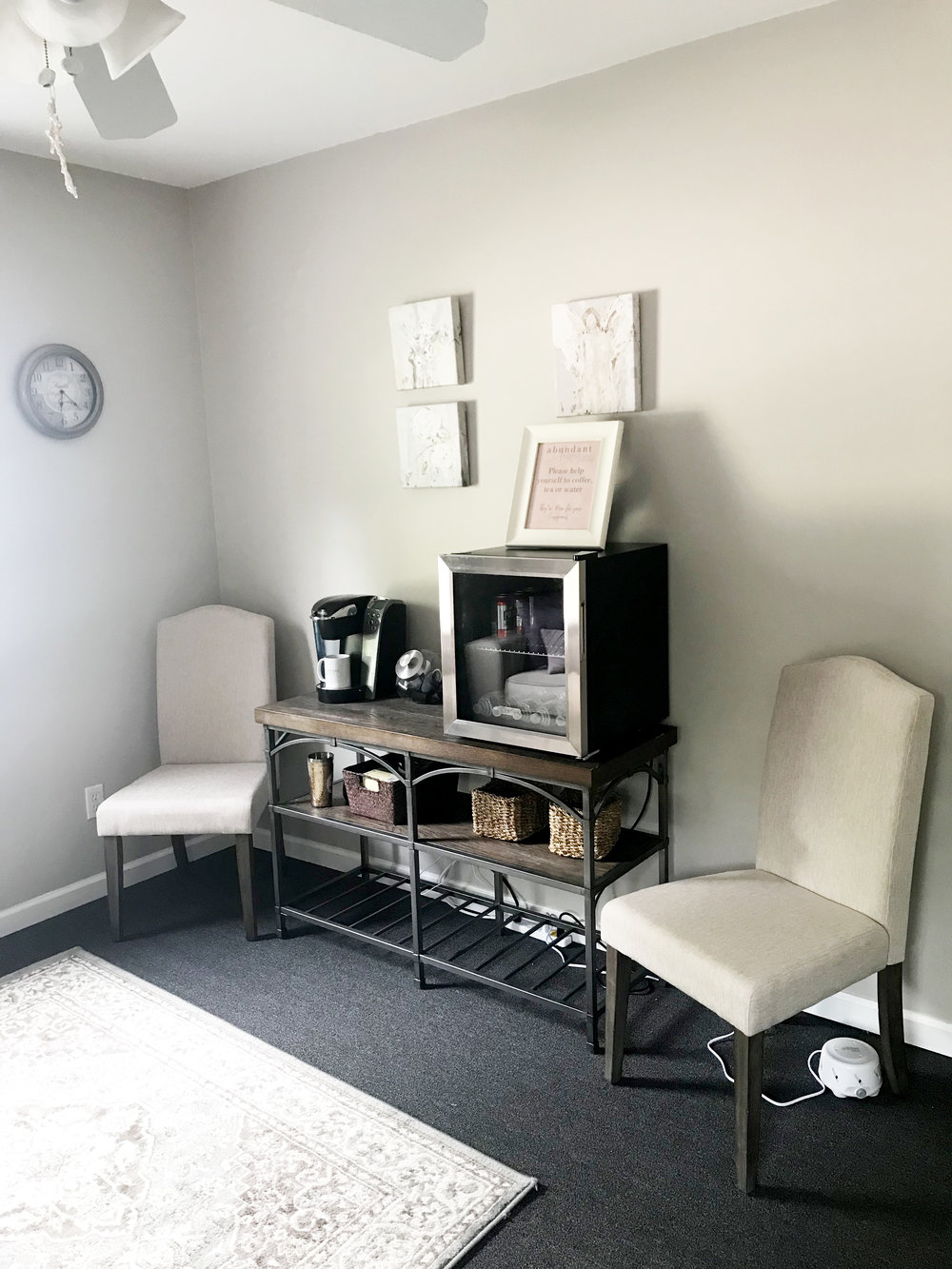 Waiting Area at Abundant Living Christian Counseling for Women