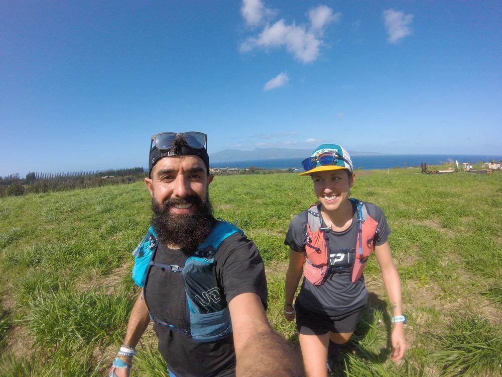 Running the Mahana Ridge Trail