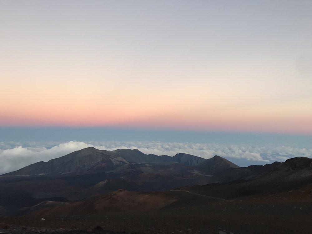Sunset at Haleakala