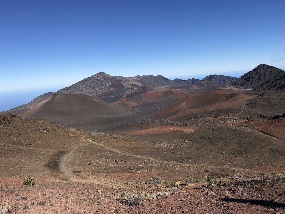 Volcano by the sea - Haleakala
