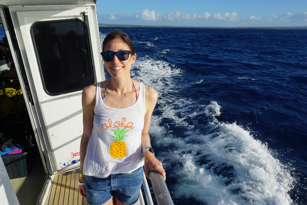 Snorkeling tour boat ride