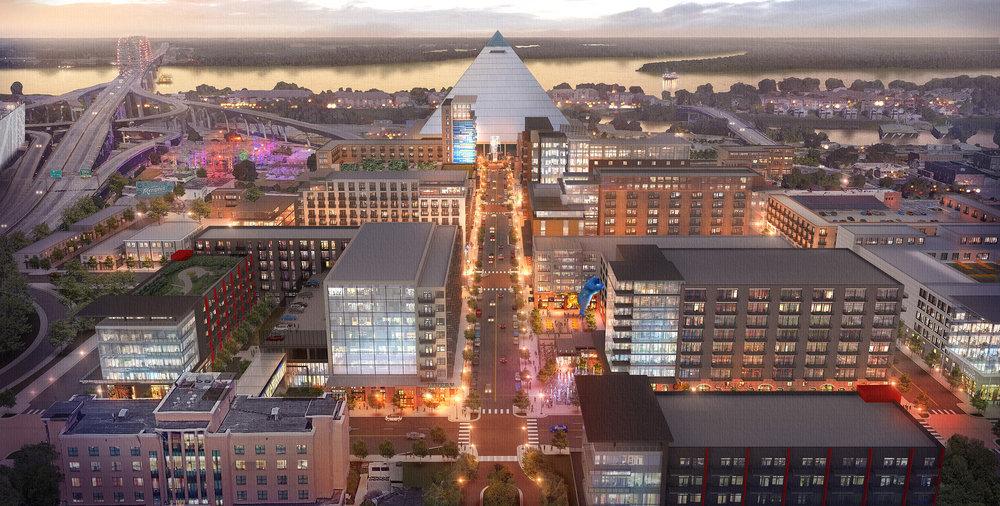 Pinch District, Memphis, TN. LRK Architects