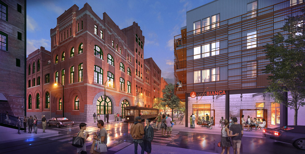 Memphis, TN. LRK Architects.