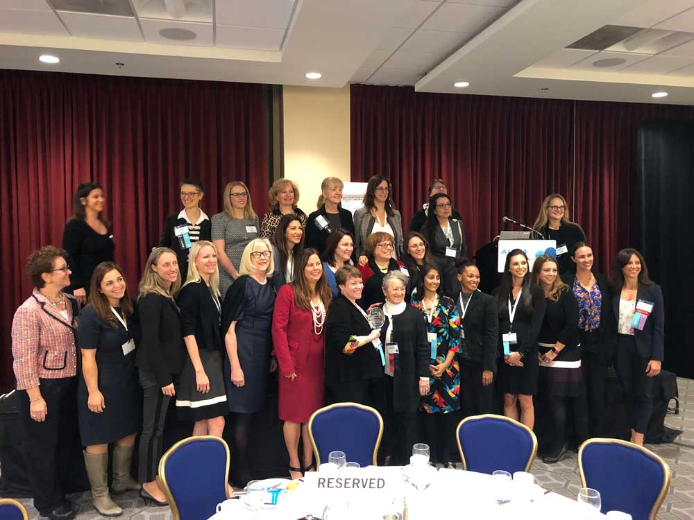 """A well deserved award - Women in IP took home the award for """"Committee of the Year""""!"""