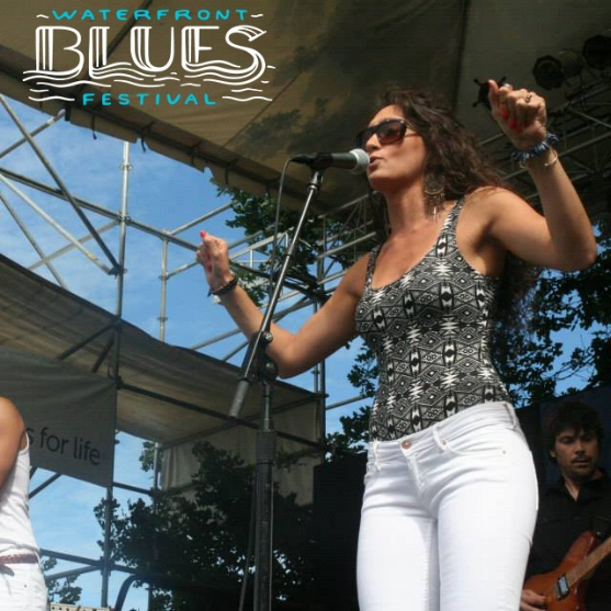 Portland Radio Project review of Lilla's Waterfront Blues Festival performance.